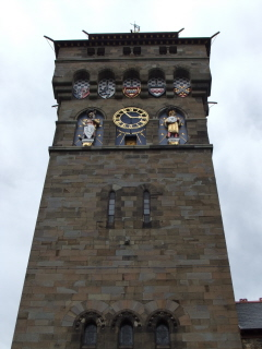 Cardiff castle - tower