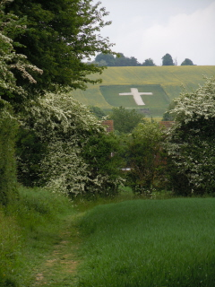 Chalk cross