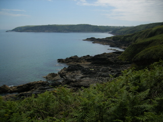 Towards Porthkerris Point
