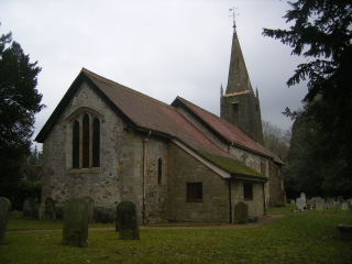 Burstow church