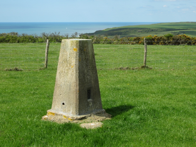 Haven Brow - trig point