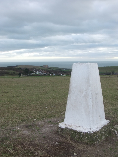 Mount Pleasant - trig point