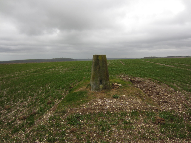Steyning Round Hill - trig point