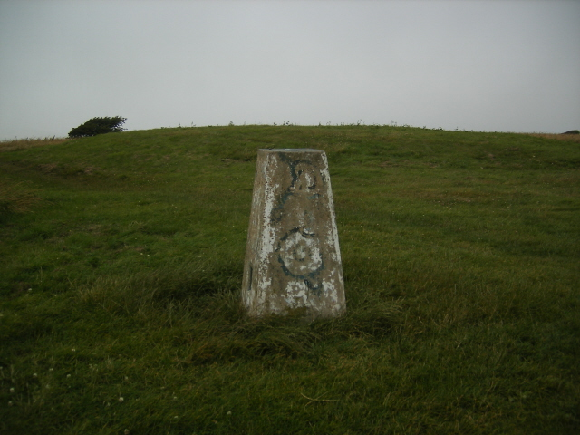 Willingdon Hill - trig point
